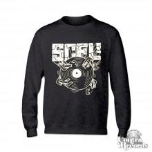 "Subculture for Life - ""SCFL! Vinyl"" - Longsleeve Shirt heather grey lim.20 pcs"