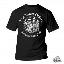 Lower Orders - Bulldog T-Shirt Black