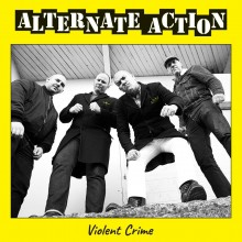"Alternate Action - ""Violent crime"" 10""MLP lim. 300 black"