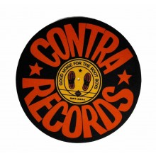 "Contra Records - ""Good Noise for the Bootboys 2018"" - 12"" Slipmat"