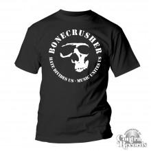 "Bonecrusher - ""music unites us"" - T-Shirt"