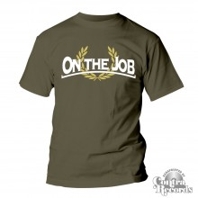 On the Job - classic - T-Shirt olive green