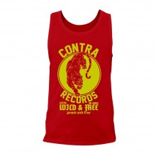 Contra Records - Panther Men Tanktop red