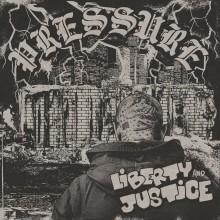 "Liberty & Justice - ""Pressure"" - 12""LP lim.100 camo marbled"