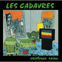 "LES CADAVRES ""Existence Saine"" 12""GF-LP green vinyl"