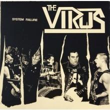 "The Virus - ""System Failure"" 12""LP lim. 500 green/brown camo splatter"