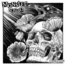 """Monster Squad - """"Depression"""" - 12""""LP+Download lim. clear half green with blue / pink splatter"""