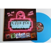 """Suede Razors - All The Hits... ...And Misses 12""""LP lim.100 Electric Blue"""