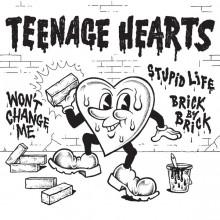 """Teenage Hearts - s/t 7""""EP"""