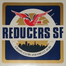 "Reducers SF - Crappy Clubs And Smelly Pubs 12""LP  lim. 150 yellow/white splatter"