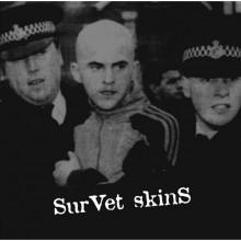 """Survet Skins - s/t - 12""""LP"""