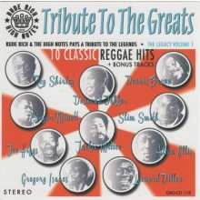 """Rude Rich & The High Notes - Tribute To The Greats 12""""LP"""
