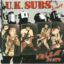 UK Subs ‎- Violent State CD