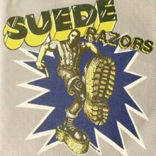 "Suede Razors ‎- Boys Night Out 7""EP 2nd press white"