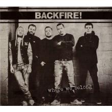Backfire! - Where We Belong - Digipack-CD