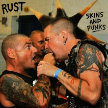 """Rust - Skins And Punks 7""""EP"""
