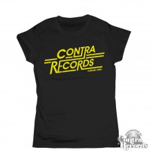 "Contra Records ""Rebels Rule"" Girl Shirt black"