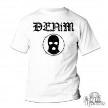 """Denim - """"wire"""" T-Shirt white"""