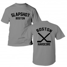 "Slapshot - ""Boston Hardcore"" T-Shirt grey front/backprint"