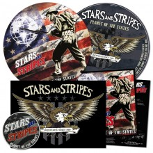 """Stars And Stripes - Planet Of The States 12""""Pic-LP incl. Poster & embroidered Patch"""
