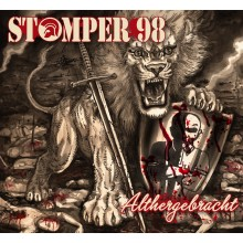 "Stomper 98 - Althergebracht 12""GF-LP lim.500-marbled red/black"