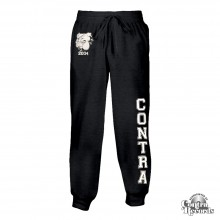 Contra - Streetwear Bulldog - Jogging Trousers (dark grey)