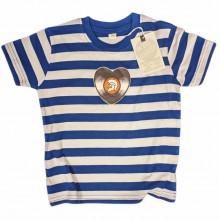 Vinylheart Trojan - Kids Shirt blue/white