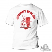 Johnny Wolga - T-Shirt White