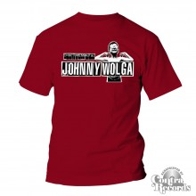 Johnny Wolga - Logo T-Shirt cardinal red