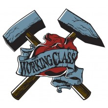 Working Class - Hammer - Sticker
