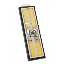 Braces / Hosenträger - half inch yellow