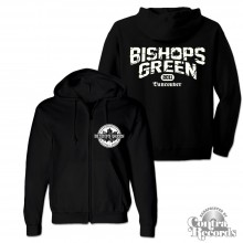 "Bishops Green - ""Vancouver Streetpunk"" - Zip Hooded Jacket black"